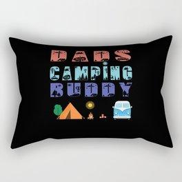Dads Camping Buddy Rectangular Pillow