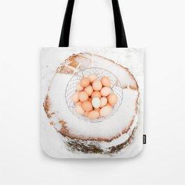 Fresh Eggs Tote Bag
