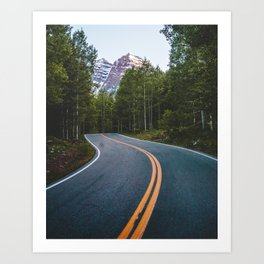Road to the Bells Art Print