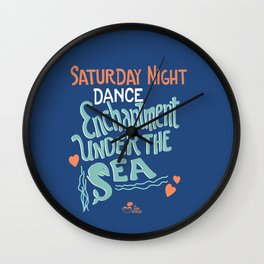The Enchantment Under The Sea Wall Clock