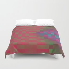 PiXeLaTeD ALL the WaYy Duvet Cover