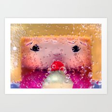 Bubblepop Art Print