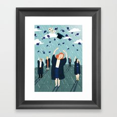 University Framed Art Print