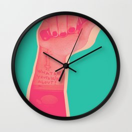 whatareyou talkinabout? Wall Clock
