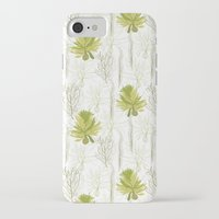 green pattern iPhone & iPod Cases featuring Green pattern  by LOLIA-LOVA