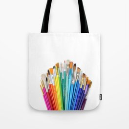 Paint the Rainbow Tote Bag