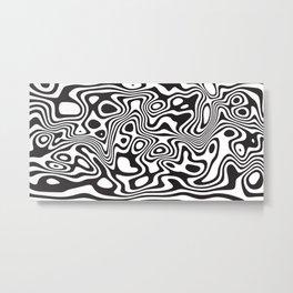 Liquified Metal Print