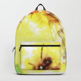The Pollen Collector Honeybee Watercolor Backpack