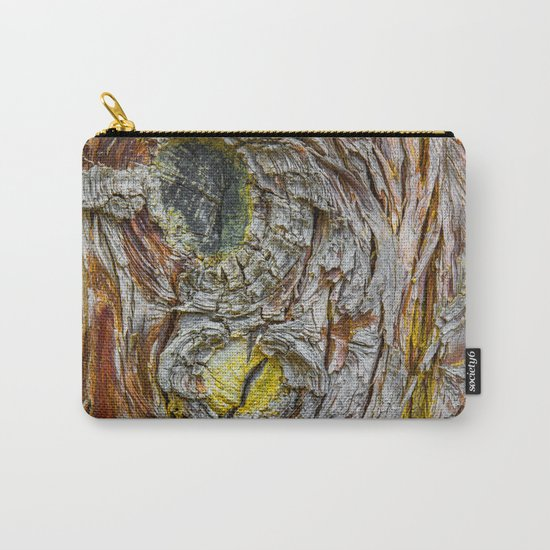 Face of Tree2 Carry-All Pouch
