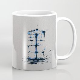 Splaaash Series - Blue Box Ink Coffee Mug
