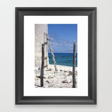 Off Limits Framed Art Print