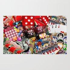 Gamblers Delight - Las Vegas Icons Rug