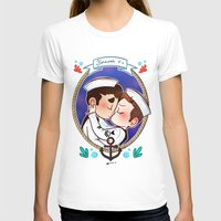 glee T-shirts featuring Sailor by Sunshunes