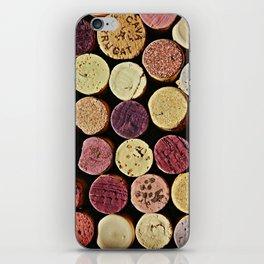 Wine Tops iPhone Skin