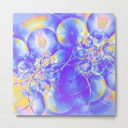 Electrons Metal Print