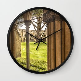 Cathedral Cloisters Wall Clock
