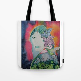 Gaia is Calling Tote Bag