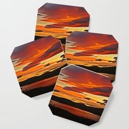 Stunning Sunset Coaster