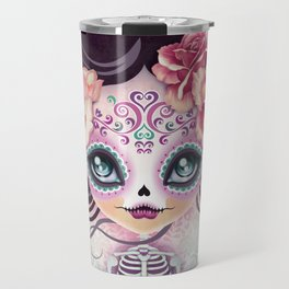 Camila Huesitos - Sugar Skull Travel Mug