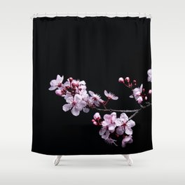 Flower Photography by David Brooke Martin Shower Curtain