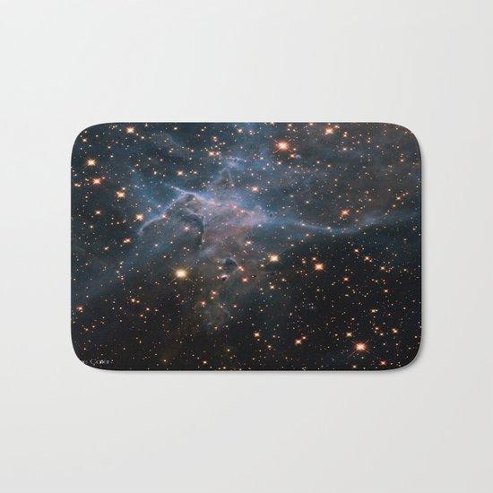 Mystic Mountain Nebula Bath Mat