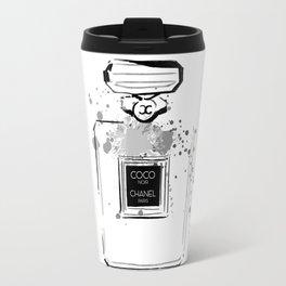 Black Perfume Travel Mug