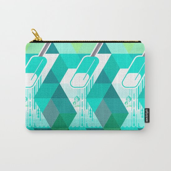 Blue Raspberry Popsicle Carry-All Pouch