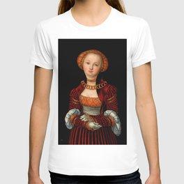 """Lucas Cranach the Elder """"Portrait of a Woman"""" 2. T-shirt"""