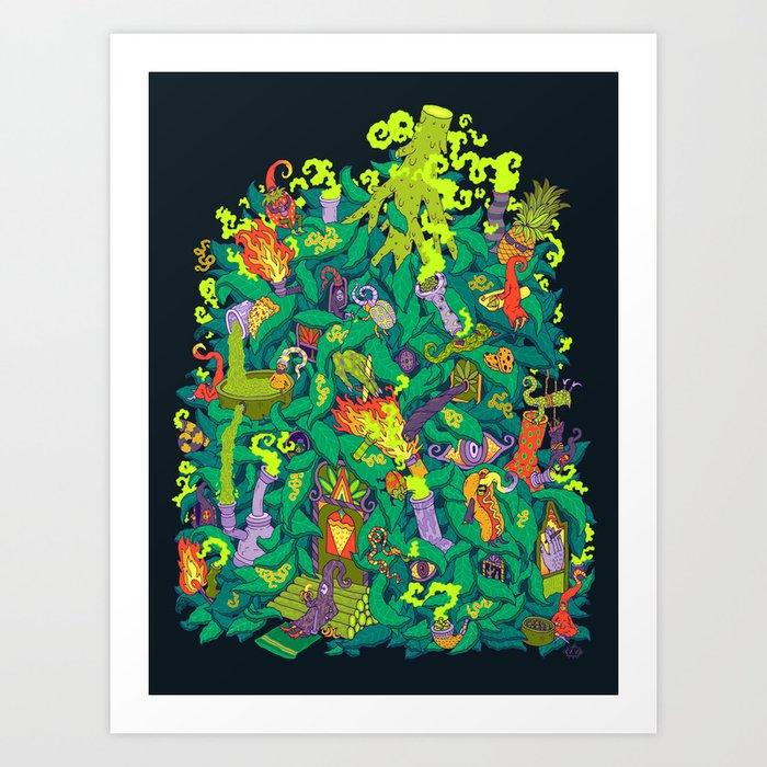 Nug House Art Print