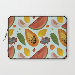 Papayas, watermelons and tropical flavours!  Laptop Sleeve