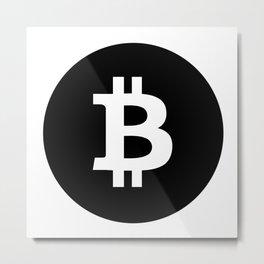 Bitcoin 18 Metal Print