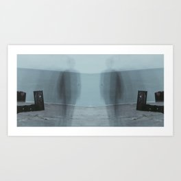 Fade Into The Abyss II Art Print