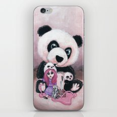 Candie and Panda iPhone & iPod Skin