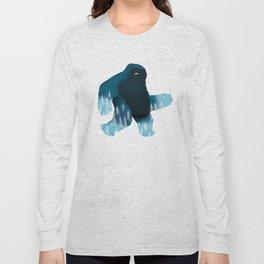 Yeti at Night Long Sleeve T-shirt