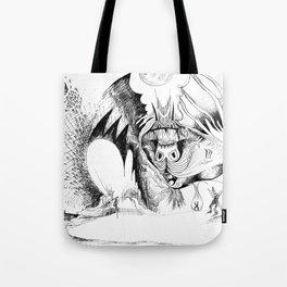Martian Wintertime Tote Bag