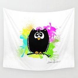 The owl without name Wall Tapestry