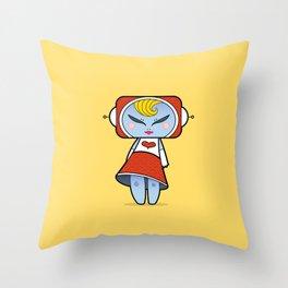 Martian Crush Throw Pillow