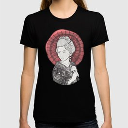 Japanese flag and Geisha T-shirt
