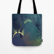 The Fox who talked the Moon and the Stars Tote Bag