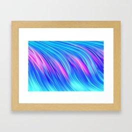 Waterfall,  abstract Framed Art Print