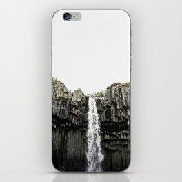 Svartifoss Waterfall Iceland iPhone Skin