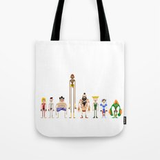The Original 8 - Street Fighter  Tote Bag