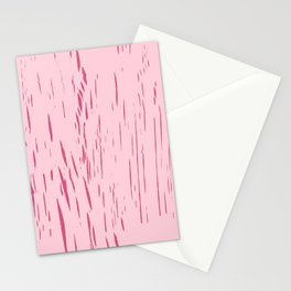 Wax Print Crackles - Rose Stationery Cards