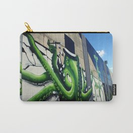"""Green Octopus"" Carry-All Pouch"