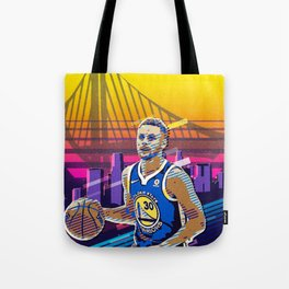 Steph Curry Tote Bag