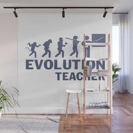 Evolution - Teacher Wall Mural