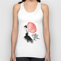 photos Tank Tops featuring Polka Rain by Karen Hofstetter