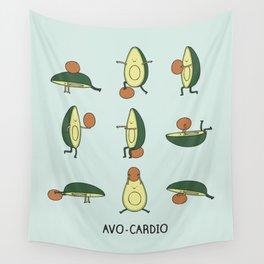 Avo-cardio Wall Tapestry