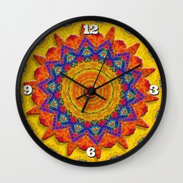Fiesta Mosaic Wall Clock