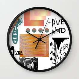 I love tits (overandover) Wall Clock